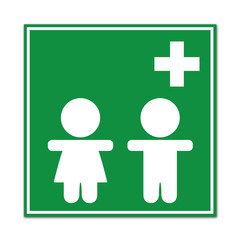 Señal sanidad infantil