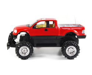 Red Pickup Toy