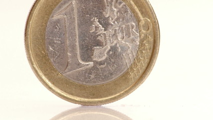 HD - Euro. Coin. Close-up