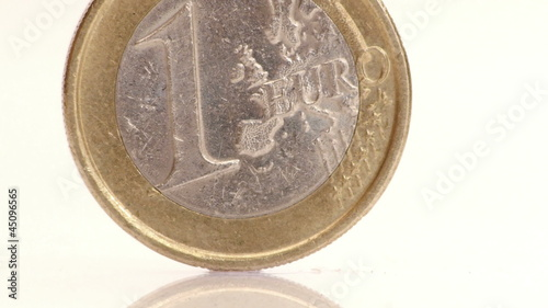 HD - Euro. Coin. Close-up