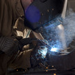 """USA, Utah, Orem, welder working """