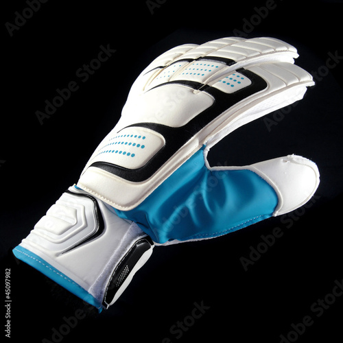 White Goalkeeper Glove