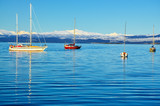 Boats in the Beagle Channel