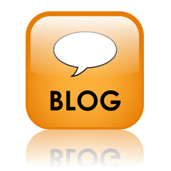"""BLOG"" Web Button (website news online internet forum community)"