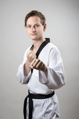 Taekwon-Do black belt champion