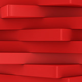 Fototapety Column of red blocks