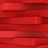 Fototapety Column of red blocks