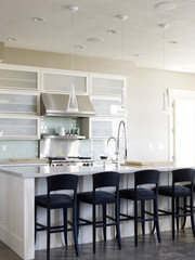 """USA, Utah, Provo, Kitchen in luxury home"""