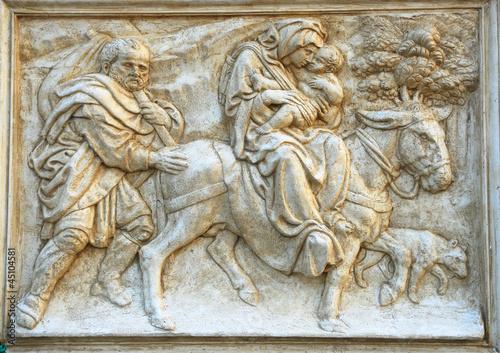 Saint Petronius decoration: The escape to Egypt