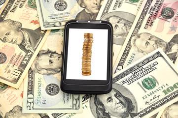 money and phone