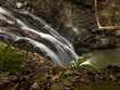"""Costa Rica, Fast flowing waterfall"""