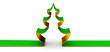 A Christmas-tree as symbol of Christmas