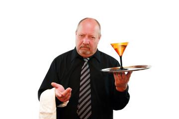 Grumpy Bartender