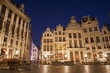 Brussels -  Palaces of Grote Markt