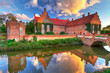 Renaissance Trolle-Ljungby Castle  in southern Sweden