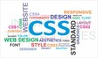 Word cloud - CSS