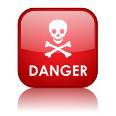 """DANGER"" Button (risk hazard caution warning sign dangerous)"