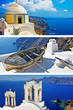 amazing Santorini. travel in greece series