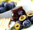 Plum jam - marmalade for breakfast