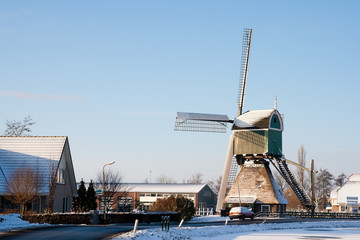 Windmill winter