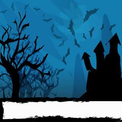 sfondo halloween notte