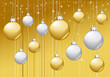 Fond Boules Noël