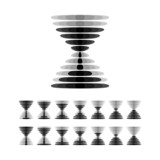 Hourglass icon (vector version)