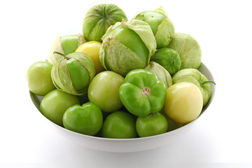 green tomatillo fruits