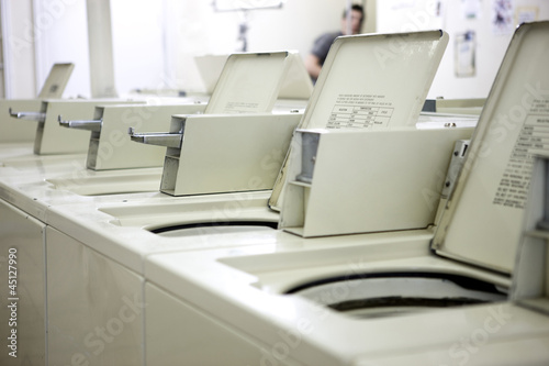 row of washers