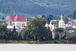 Panorama of the town Berezhany. Ukraine.