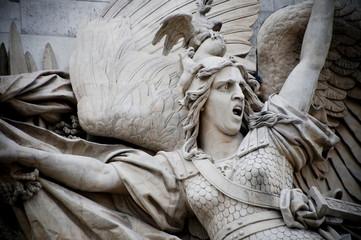 Arc de Triomphe Statue detail