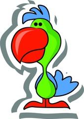 мультфильм попугай