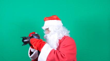 Santa photographing
