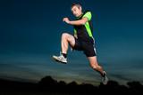 Fototapeta niebo - jogging - Lekkoatletyka