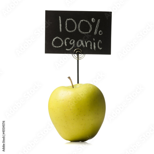 organic golden delicious apple