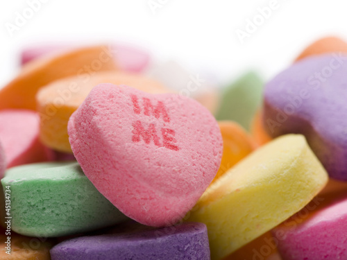 IM Me candy heart