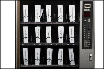 cosmetic surgery procedures in a vending machine