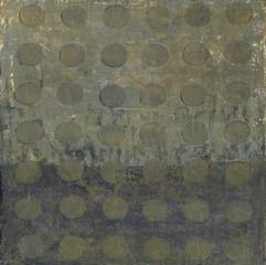 Abstract Circle Pattern Painting