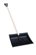 Snow shovel white background