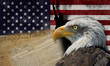 Símbolos y bandera de los Estados Unidos de América