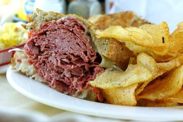 Corned Beef Rueben Sandwich