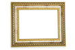 Picture frame isolated on the white