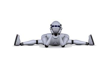 Robot is an acrobat