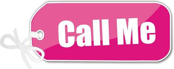 étiquette call me