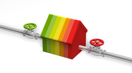 Haus Energieeffizienz Pipe4