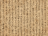 Egypt hieroglyphs, grunge seamless pattern for your design