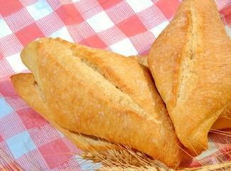 pane toscano in tavola