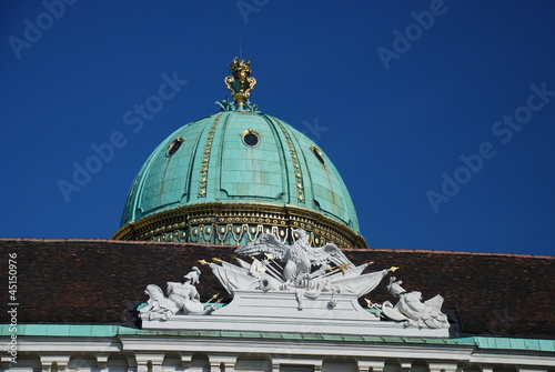 Imperial Eagle, Vienna, Austria