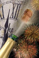 Neujahr Sylvester Silvester