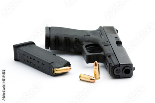 Leinwandbild Motiv pistol